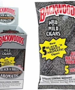 Buy Backwoods Black 'N Sweet Aromatic Cigars online